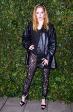 ELLIE BAMBER at Bafta Nominees Party in London 02/17/2018