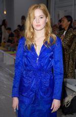 ELLIE BAMBER at Jasper Conran Fashion Show in London 02/17/2018