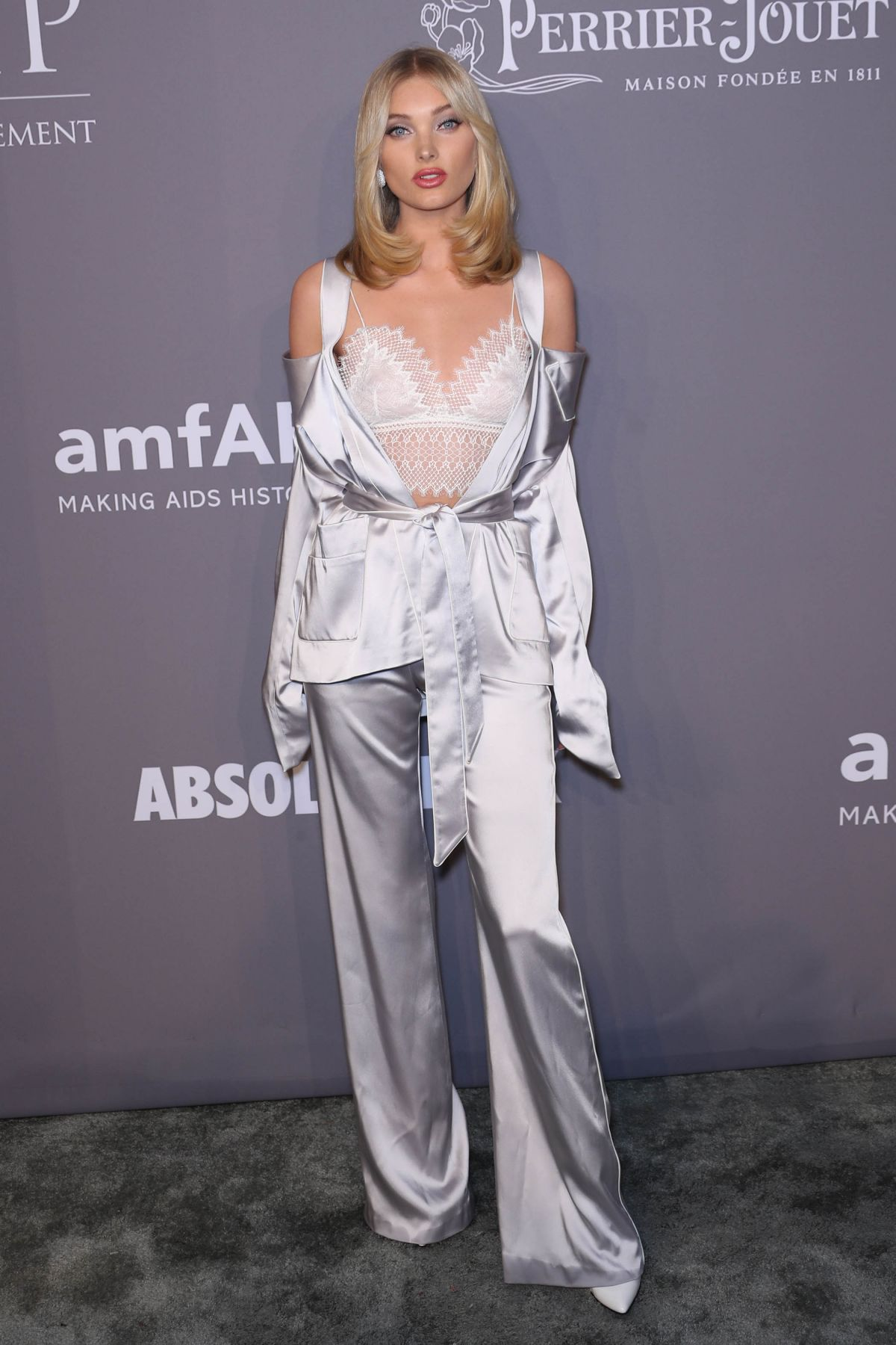 e1e1ebbb7fa ELSA HOSK at Amfar Gala 2018 in New York 02 07 2018