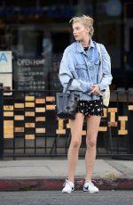 ELSA HOSK Out Shopping in New York 02/05/2018