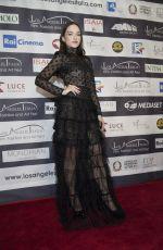 EMANUELA POSTACCHINI at Los Angeles Italia Film, Fashion and Art Festival 02/25/2018
