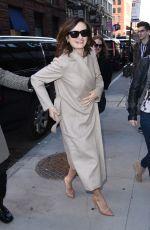 EMILY MORTIMER Arrives at Her Hotel in New York 02/12/2018