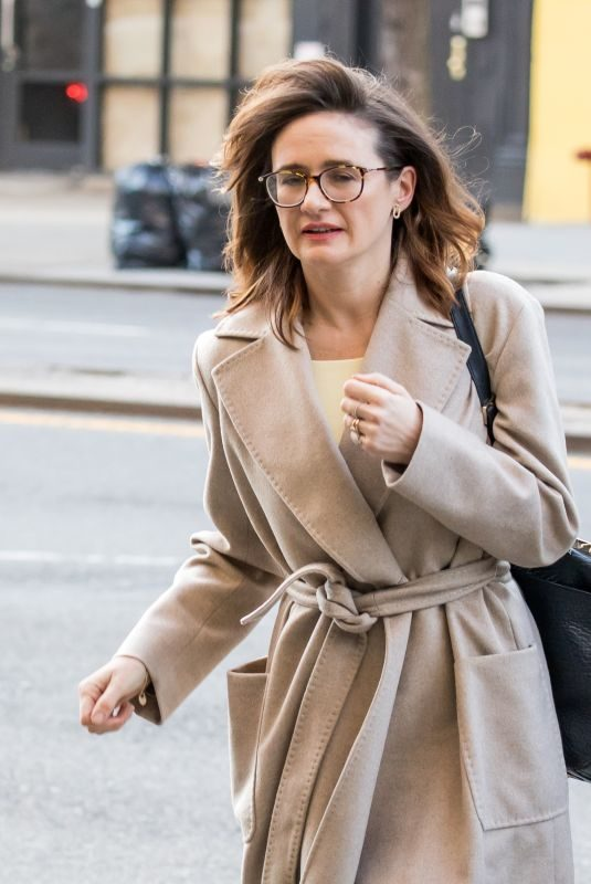 EMILY MORTIMER Arrives at Her Hotel in New York 02/12/2018