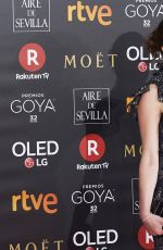 EMILY MORTIMER at 32nd Goya Awards in Madrid 03/02/2018