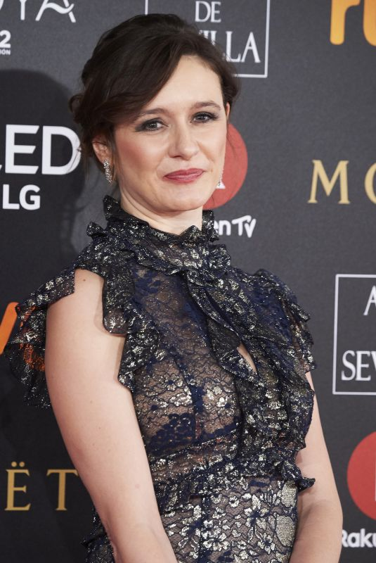 EMILY MORTIMER at 32nd Goya Awards in Madrid 03/02/2018