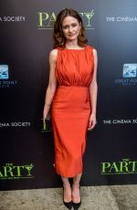 EMILY MORTIMER at The Party Screening in New York 02/12/2018