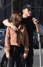 EMILY RATJKOWSKI Out for Lunch at Sugarfish by Sushi Nozawa in Hollywood 02/13/2018
