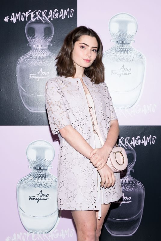EMILY ROBINSON at Amo Ferragamo Hosted by Suki Waterhouse at New York Fashion Week 02/06/2018