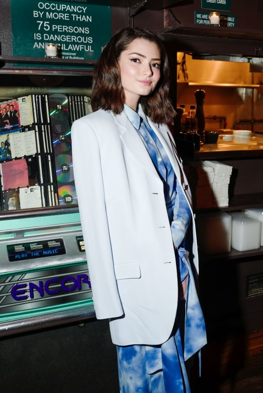 EMILY ROBINSON at Michael Kors x David Downton Dinner Celebration at New York Fashion Week 02/14/2018