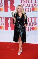 EMMA BUNTON at Brit Awards 2018 in London 02/21/2018