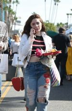 EMMA KENNEY and Aidan Alexander Out in Los Angeles 02/11/2018