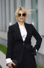 EMMA MARRONE at Emporio Armani Fashion Show at MFW in Milan 02/25/2018