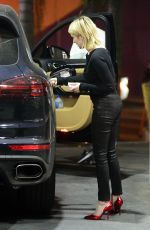 EMMA ROBERTS at a Gas Station in Los Angeles 01/31/2018