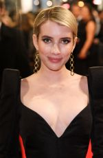 EMMA ROBERTS at BAFTA Film Awards 2018 in London 02/18/2018
