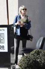 EMMA ROBERTS Out for Iced Coffee in Los Angeles 02/12/2018