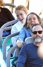EMMA STONE at Disneyland in Anaheim 02/16/2018