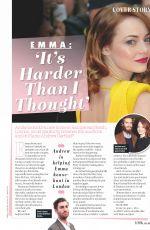 EMMA STONE in Look Magazine, UK February 2018