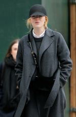 EMMA STONE Leaves Smile Cafe in New York 02/02/2018