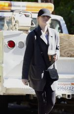EMMA STONE Out and About in Los Angeles 02/25/2018