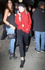 EMMA WATSON Arrives at Troubadour in Los Angeles 02/07/2018