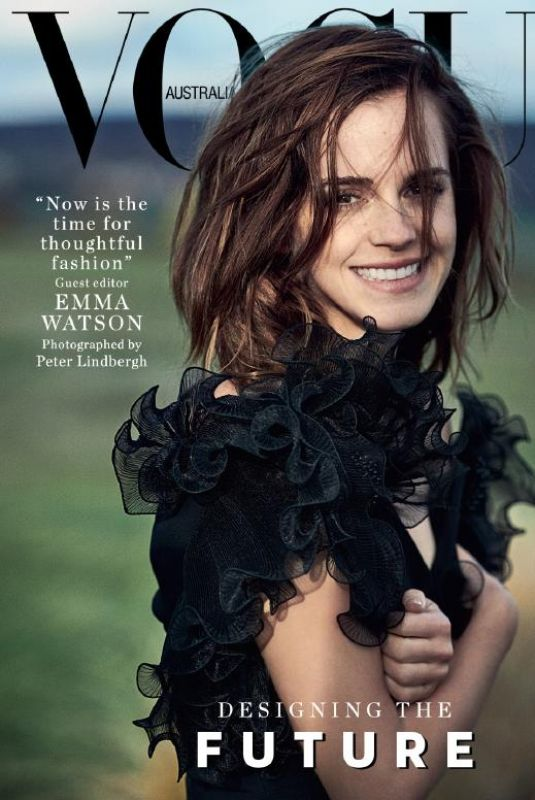 EMMA WATSON in Vogue Magazine, Australia March 2018 Issue