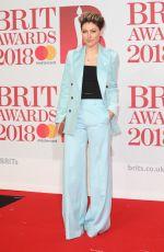 EMMA WILLIS at Brit Awards 2018 in London 02/21/2018
