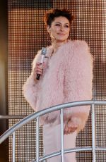 EMMA WILLIS at Celebrity Big Brother Final in Borehamwood 02/02/2018