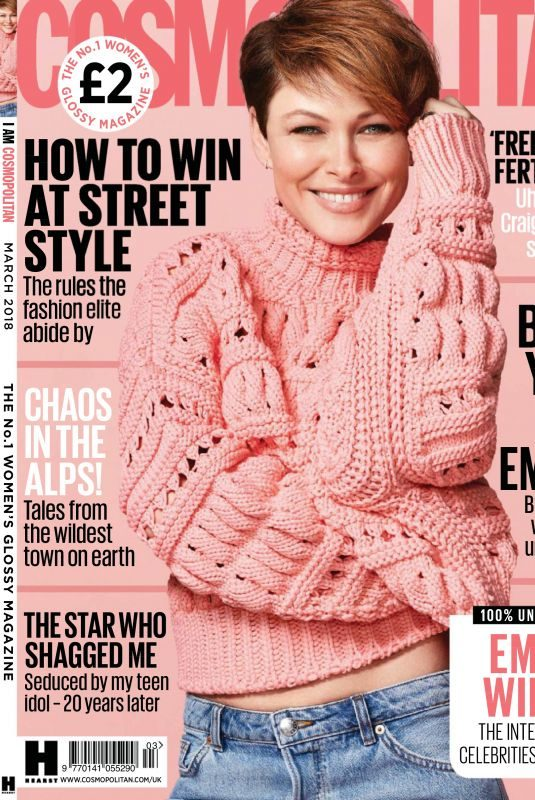 EMMA WILLIS in Cosmopolitan Magazine, UK March 2018 Issue