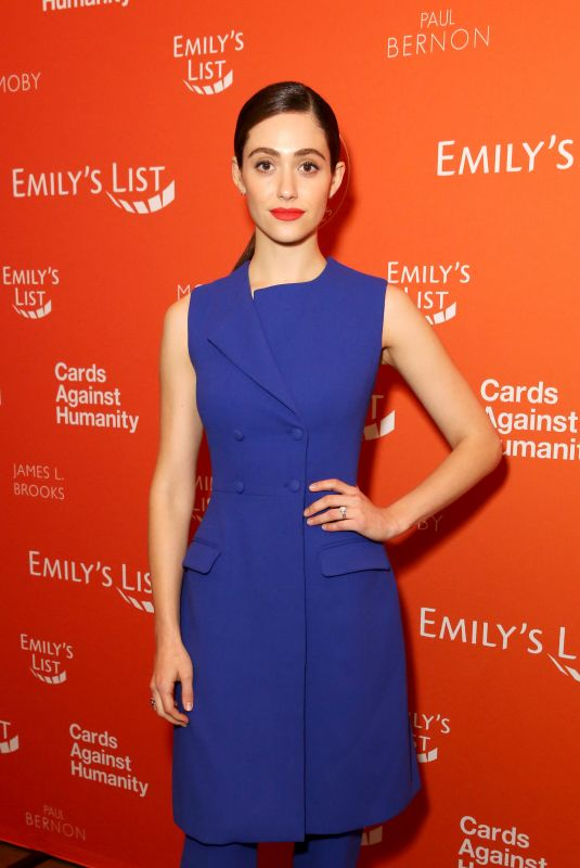 EMMY ROSSUM at Emily's List Run. Resist. Win Event in Los Angeles 02/27/2017