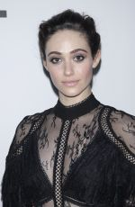 EMMY ROSSUM at The Minefield Girl Audio Visual Book Launch in New York 01/31/2018