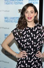 EMMY ROSSUM at Williamstown Theatre Festival Gala in New York 02/05/2018