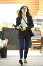 EMMY ROSSUM Out Shopping in Los Angeles 02/18/2018