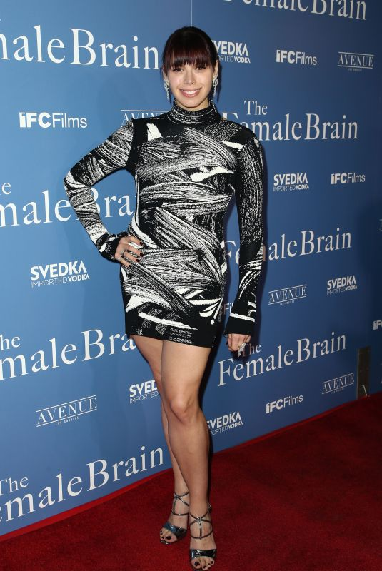 ERIKA OLDE at The Female Brain Premiere in Los Angeles 02/01/2018