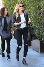 ERIN ANDREWS Out for Lunch in Beverly Hills 02/16/2018