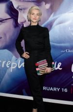 ERIN RICHARDS at Irreplaceable You Special Screening in New York 02/08/2018