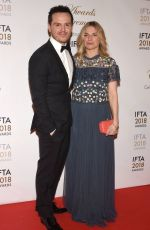 EVA BIRTHISTLE at IFTA Film & Drama Awards 2018 in Dublin 02/15/2018