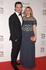 EVA BIRTHISTLE at IFTA Film & Drama Awards 2018 in Dublin 02/15/2018
