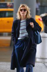 EVA HERZIGOVA Arrives at JFK Aiport in New York 02/11/2018
