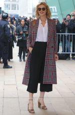 EVA HERZIGOVA Arrives at Michael Kors Show at New York Fashion Week 02/14/2018