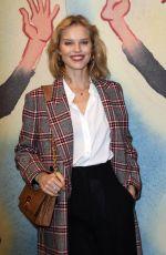 EVA HERZIGOVA at Michael Kors Runway Show at New York Fashion Week 02/14/2018