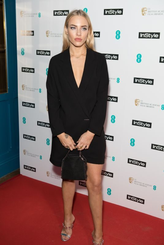 FAE WILLIAMS at Instyle EE Rising Star Baftas Pre-party in London 02/06/2018