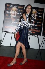 FAMKE JANSSEN at Notes from the Field Special Screening in New York 02/21/2018