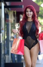 FARRAH ABRAHAM on the Set of a Photoshoot for Her New Collection in Los Angeles 02/02/2018