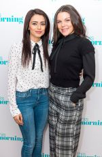FAYE BROOKES and BHAVNA LIMBACHIA at This Morning Show in London 02/20/2018