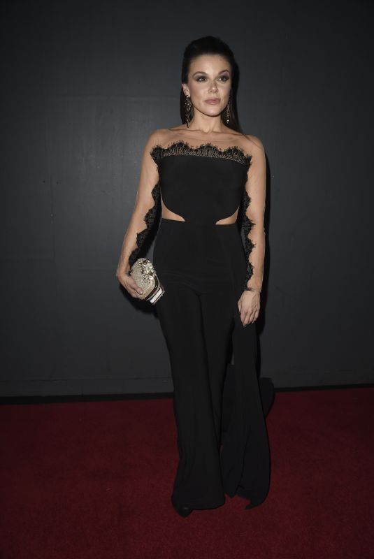 FAYE BROOKES at Kym Marsh Footprint Charity Ball in Manchester 02/10/2018