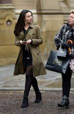 FAYE BROOKES Out and About in Manchester 02/13/2018