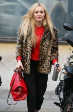 FEARNE COTTON Arrives at BBC Radio Studios in London 02/14/2018
