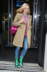 FEARNE COTTON Leaves BBC Radio in London 02/15/2018