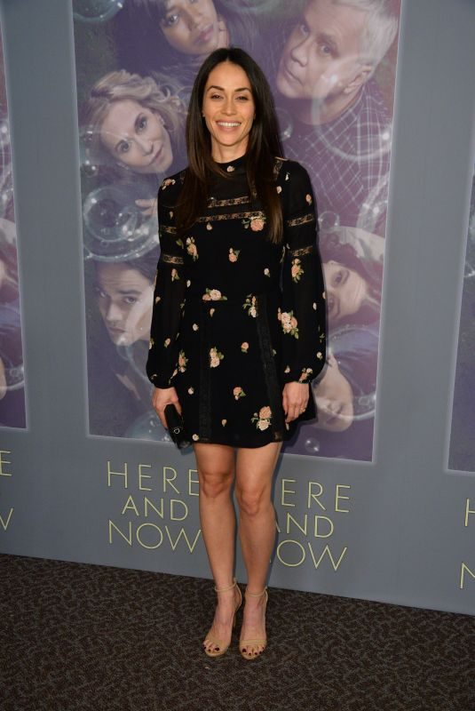 FERNANDA ANDRADE at Here and Now Premiere in Los Angeles 02/05/2018