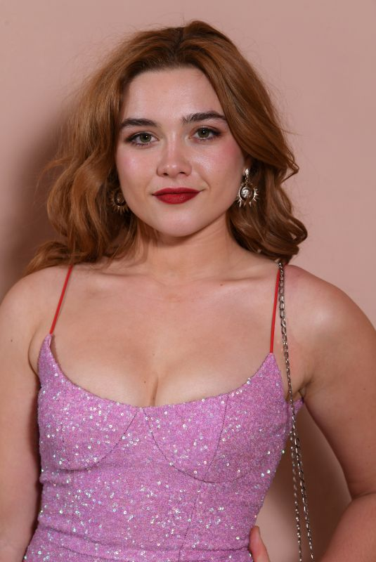 FLORENCE PUGH at Bafta Nominees Party in London 02/17/2018
